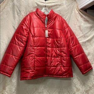 Faded Glory Reversible Puffer Coat 3x 22-24 NWT